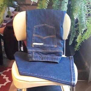 Michael Kor's dark boot cut jeans